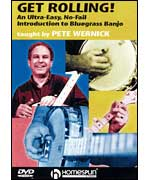 Get Rolling: An Ultra-Easy, No-Fail Introduction to Bluegrass Banjo