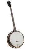 Rover RB-115 Student Wood-Rim 5-String Resonator Banjo - Bluegrass Instruments