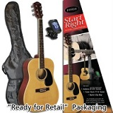 Indiana ID-100 Acoustic Dreadnought Starter Pack - Bluegrass Instruments