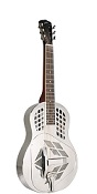 RM-991-S RECORDING KING METAL BODY RESONATOR, TRICONE SQUARENECK - Bluegrass Instruments