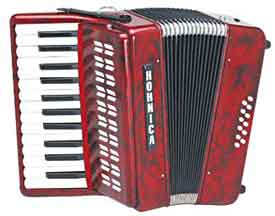 Hohner Hohnica Piano Accordian