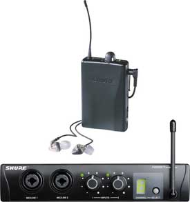 Shure PSM 200 Wireless Personal Monitor System