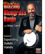 Blazing Bluegrass Banjo Vol 2  Stylistic Variety