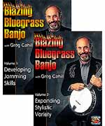 Blazing Bluegrass Banjo Volumes 1 & 2 Set