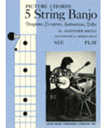 Picture Chords for 5 String Banjo (Book)