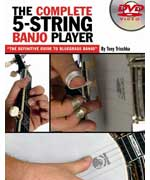 Complete 5 String Banjo Player