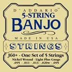 D'Addario Banjo Strings