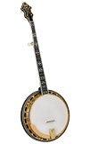 Flinthill FHB-287 Traditional 5-String Resonator Banjo - Flat Head