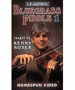Learning Bluegrass Fiddle - Video 1