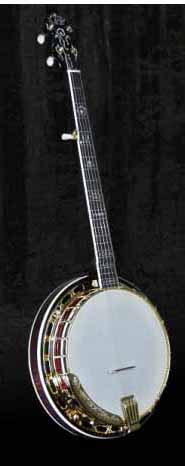 Morgan Monroe MGB-1W Collector Series Gold Banjo