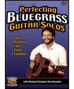 Perfecting Bluegrass Guitar Solos